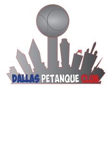 Dallas Pétanque Club Logo Simple Chemise